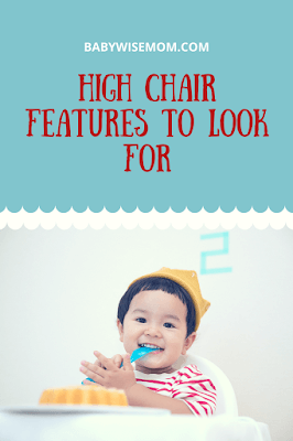 High Chair Features to Look For