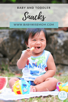 Snacks for Babies and Toddlers. Snacks for babies, snacks for toddlers, and good rules to follow for snack time at your house.