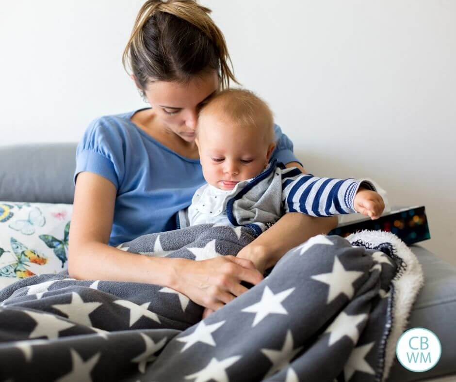 How To Maintain a Schedule When Your Little One is Sick