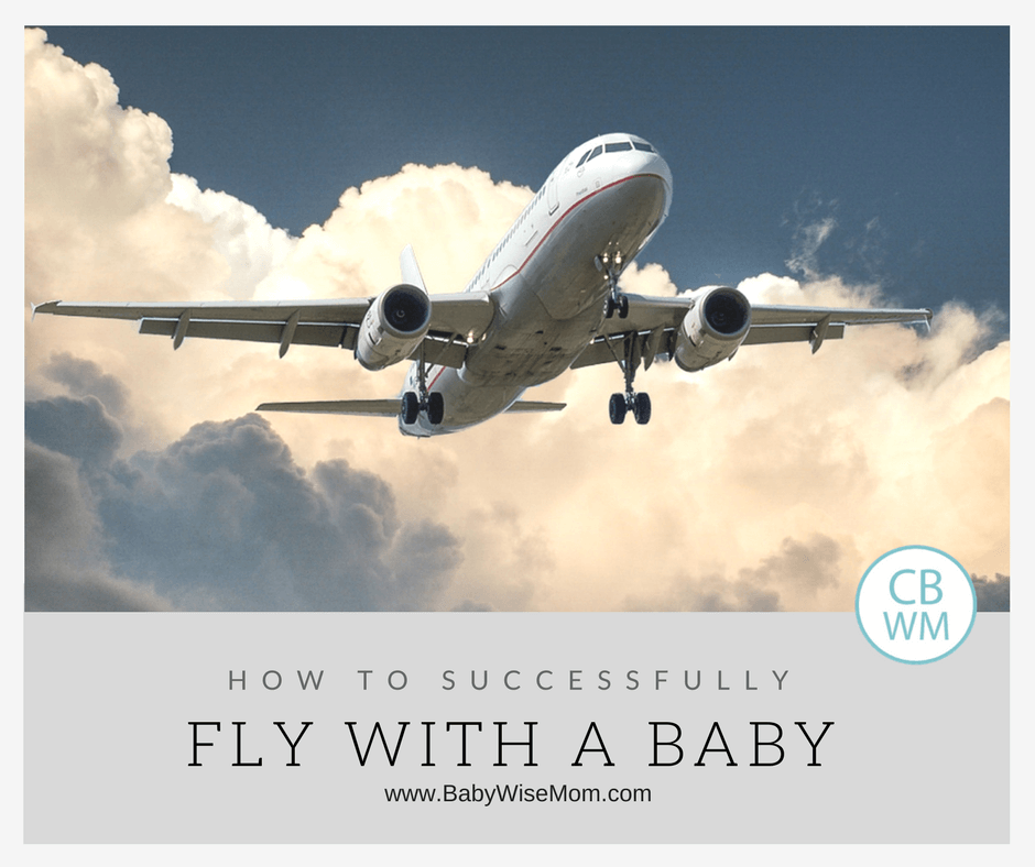 Successfully flying with baby