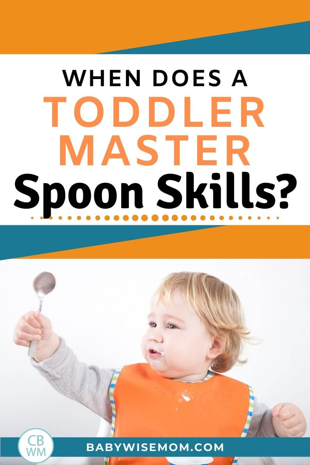 When does a toddle master spoon skills?