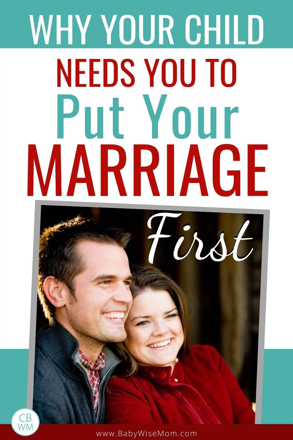 Put Marriage First Pinnable Image