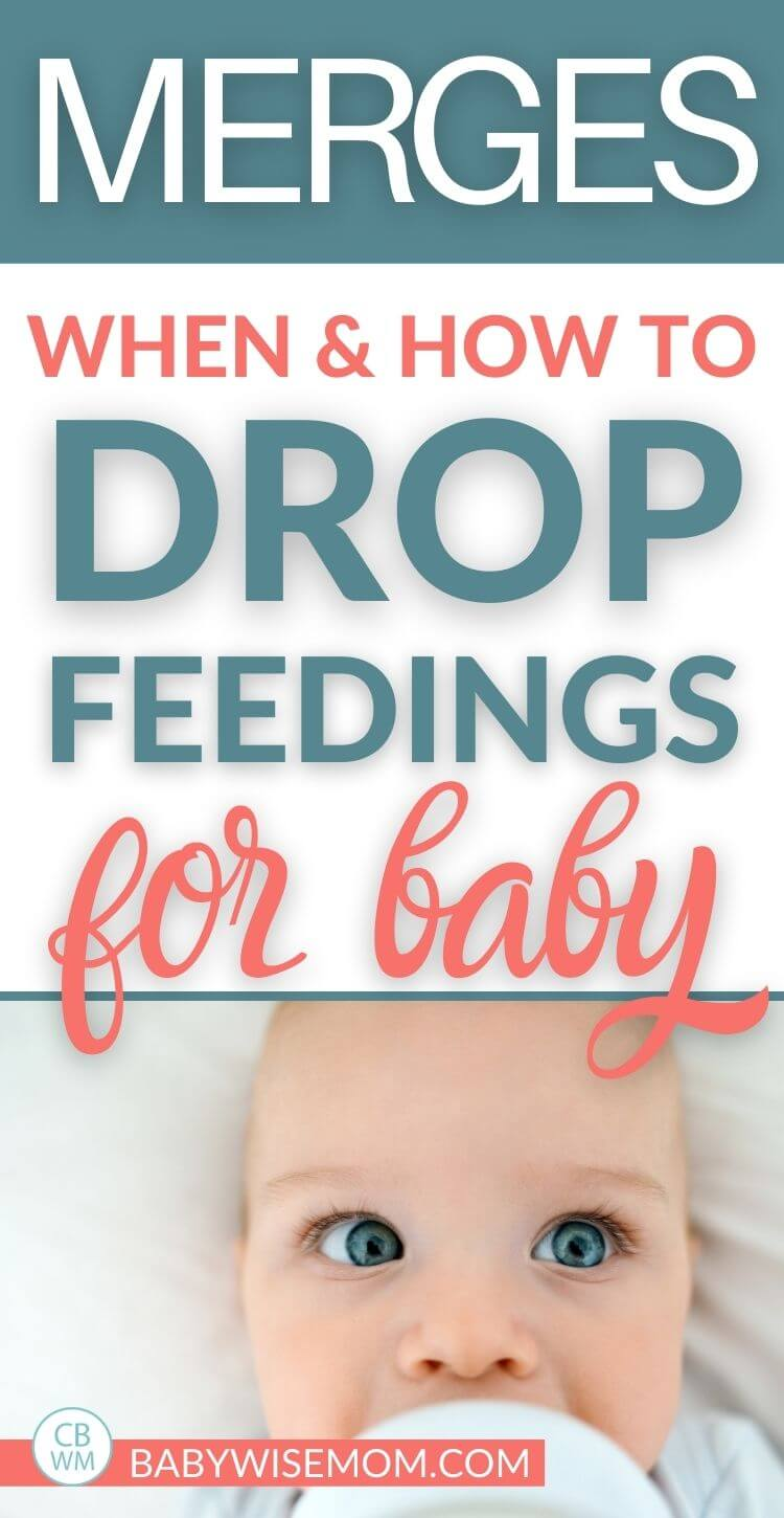 Merges. When to drop feedings
