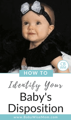 How to Identify Your Baby's Disposition. Tips from the Baby Whipserer to get to know your baby and know what to expect.