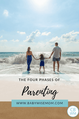 Four Phases of Parenting (Childwise). How much control you should exert at each age of your child. When to lead, when to train, and when to be a friend.