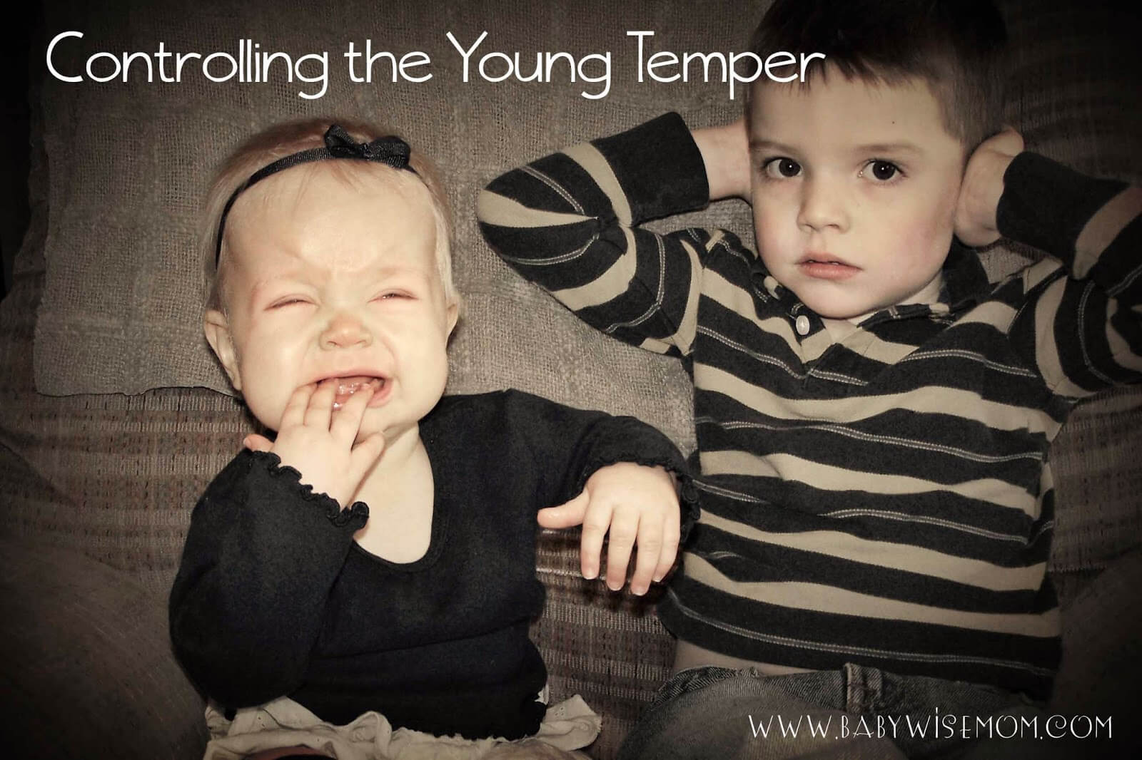 Controlling the young temper tips. What to do when your young toddler has a tantrum.