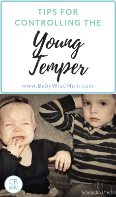 Controlling the young temper tips. What to do when your young toddler has a tantrum. Discipline helps and tips for how to respond to tantrums.