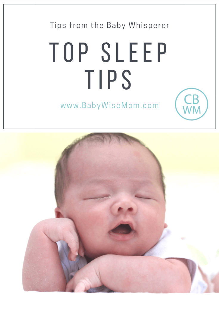 Sleep Tips from the Baby Whisperer. Get to know the different sleep types and the stages of sleep. This will help you help your baby sleep well.