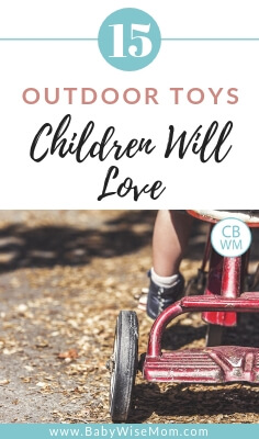 Outdoor toys children will love. Over 15 gift ideas for children. Outdoor toys for children to use their imaginations and get exercise.