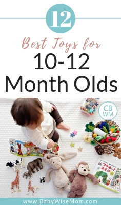 Best Toys for Baby: Ages 10-12 Months. 12 great toy ideas for older babies. Gift ideas for babies.