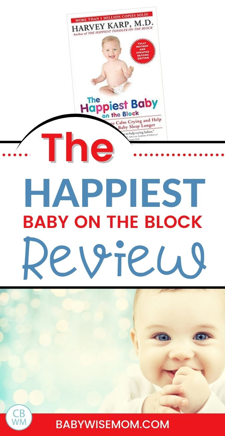Happiest baby on the block book review
