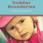 How to Give Your Toddler Boundaries