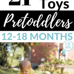 21 of the best toys for pretoddlers. Great educational and fun toys and gift ideas for your 12-18-month-old little toddler.
