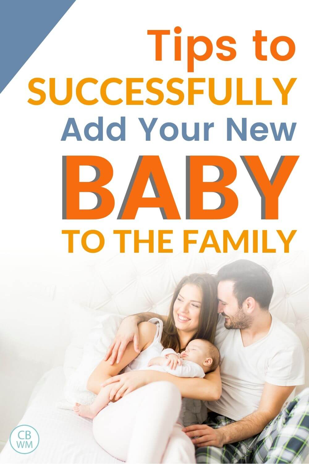 Tips to successfully add your new baby to the family pinnable image