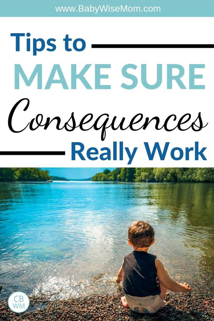 Tips to make sure consequences actually work pinnable image