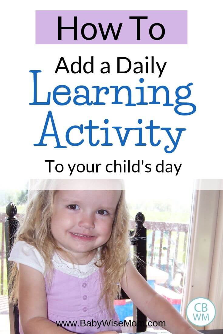 How to add a daily learning activity to your day pinnable image