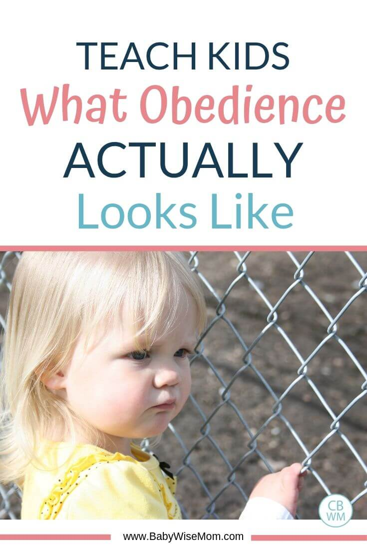 Teach Kids What Obedience Actually Looks Life