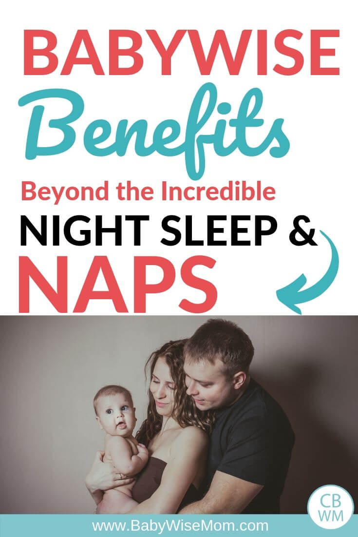 Babywise benefits Pinnable Image