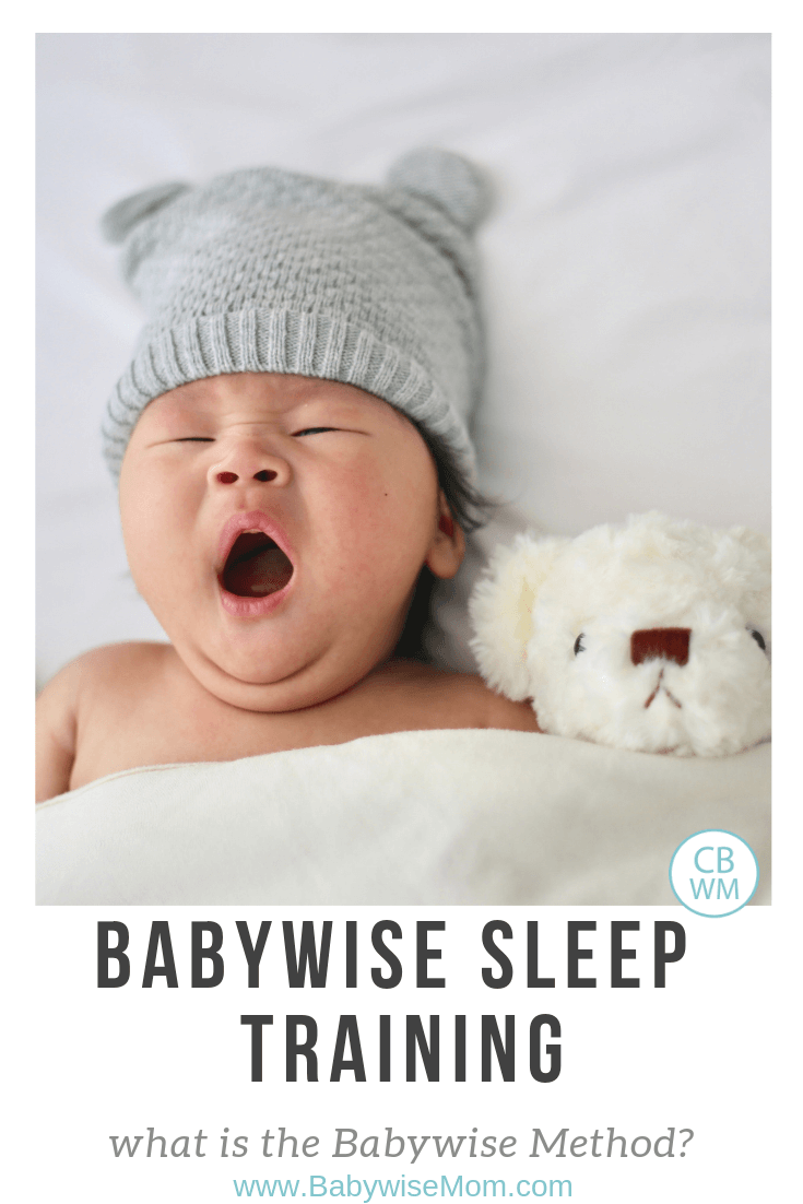 Babywise sleep training. Babywise sleep method and how to sleep train according to On Becoming Babywise.