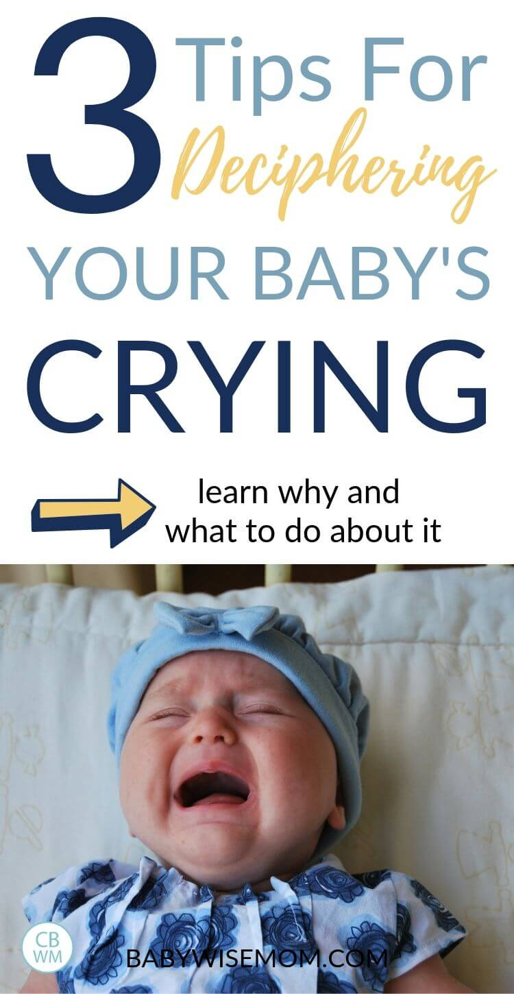 3 Tips for Deciphering Crying Pinnable Image