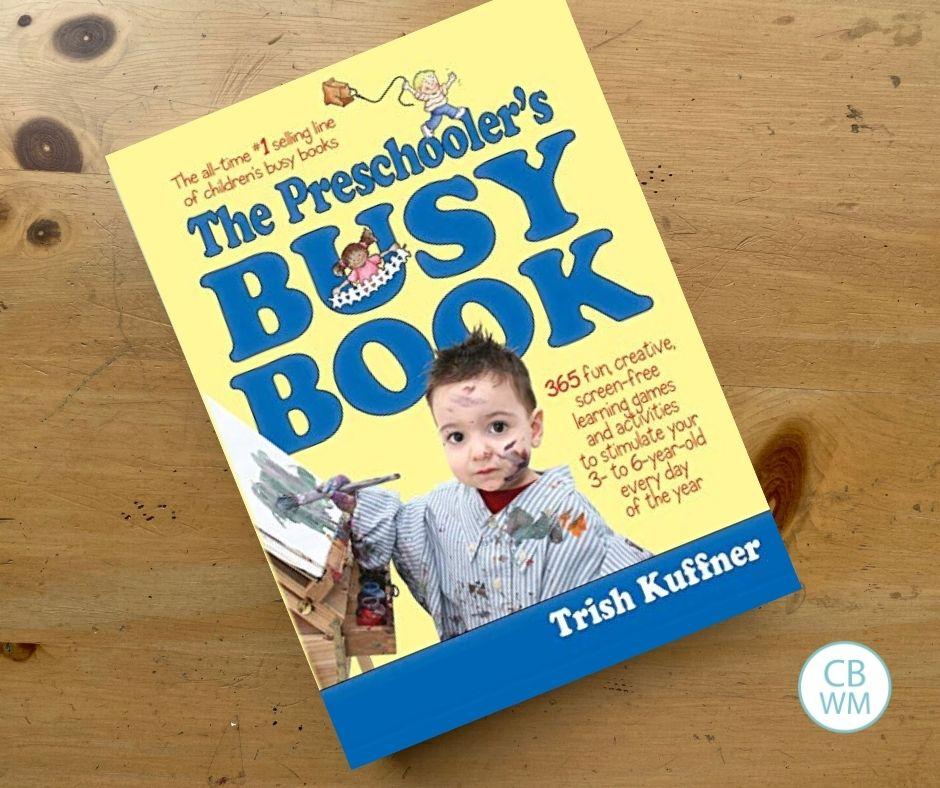 Preschooler busy book