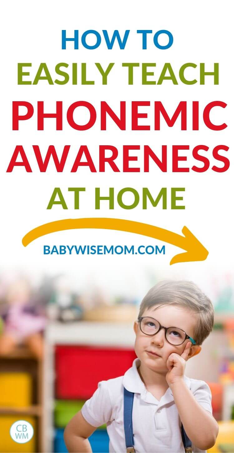 Phonemic Awareness at Home Pinnable Image