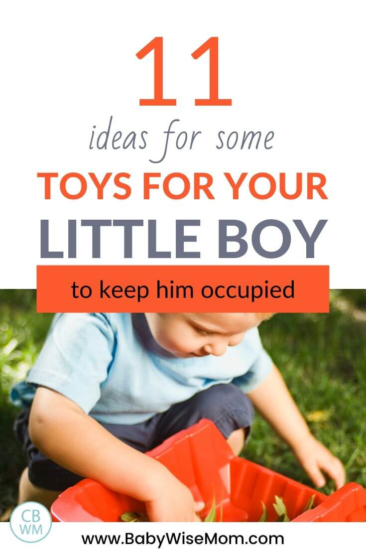 Toys for little boy pinnable image