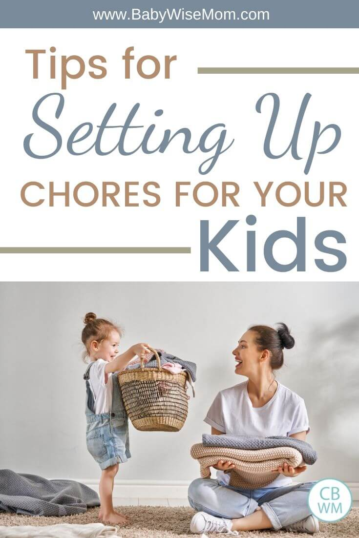 Chores for your kids