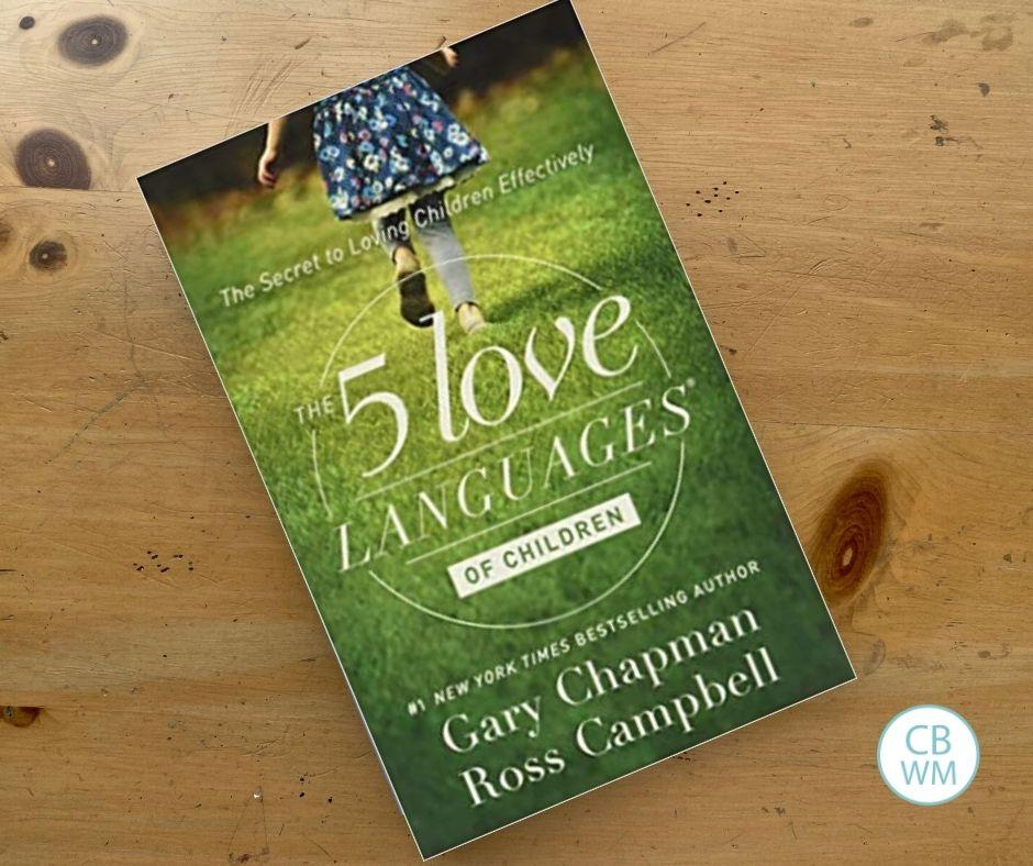 5 Love Languages of Children book