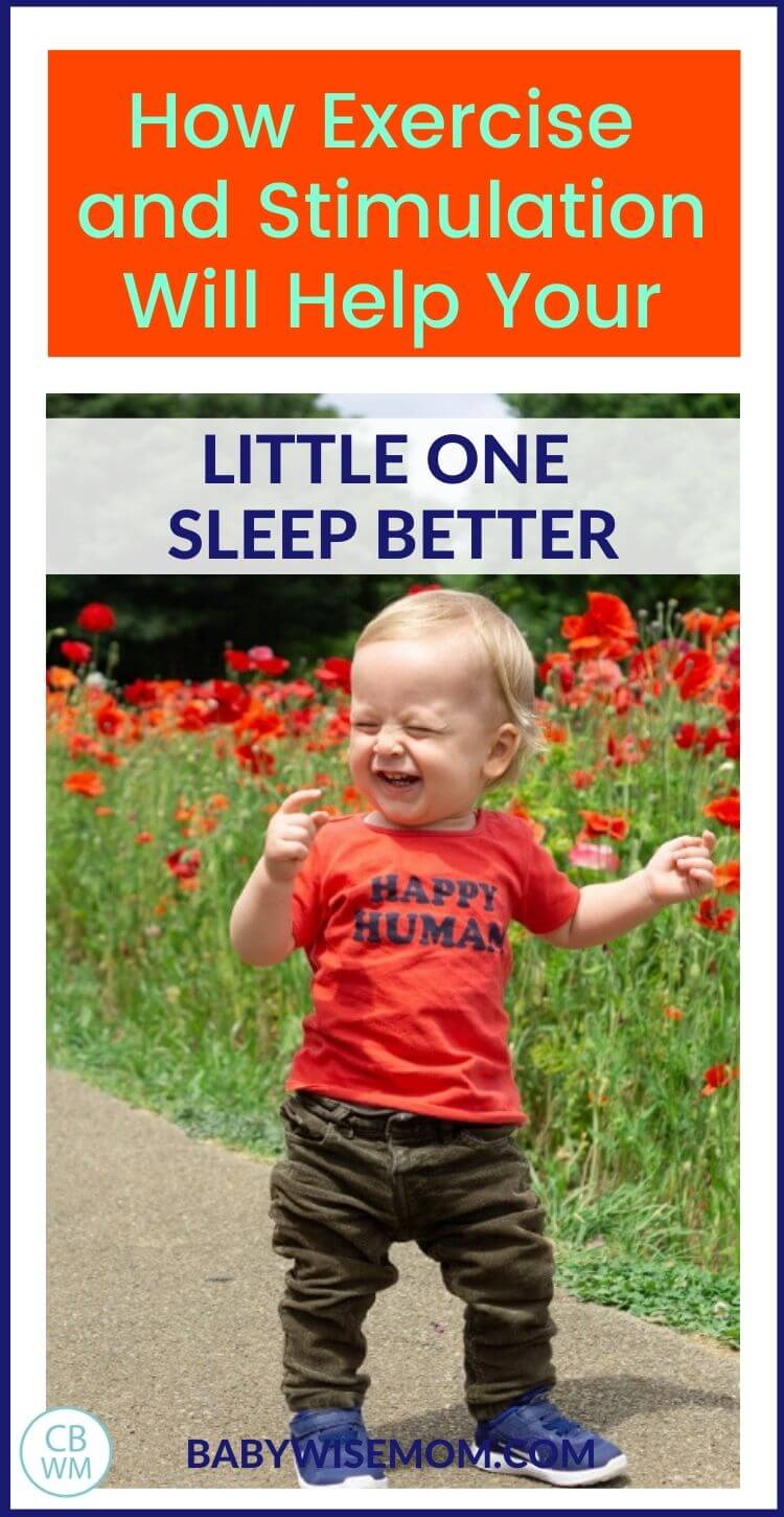 Exercise and stimulation for sleep help pinnable image