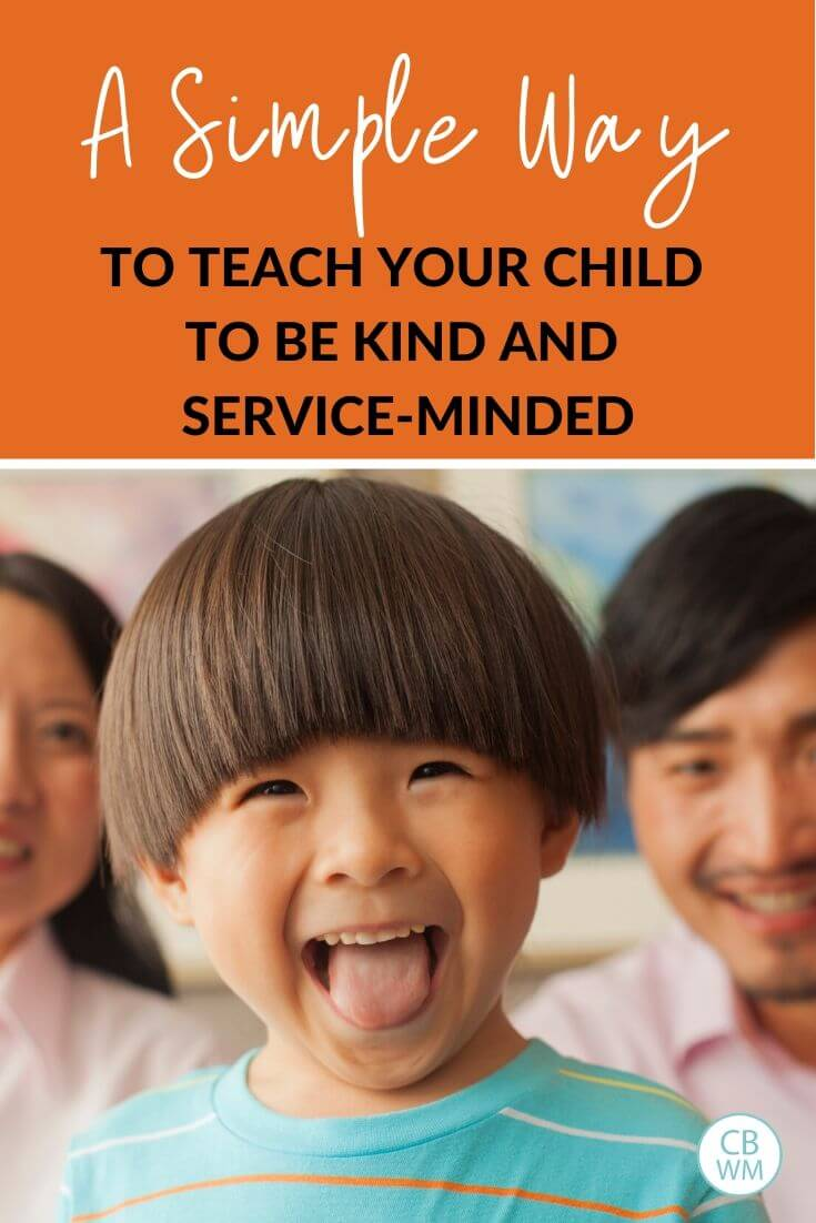 A simple way to teach positive behavior pinnable image