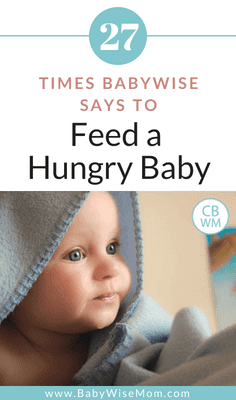 On Becoming Babywise does not say to starve baby. It says to feed baby when hungry nearly 30 times. Babywise allows parents to feed a hungry baby and does not cause failure to thrive.