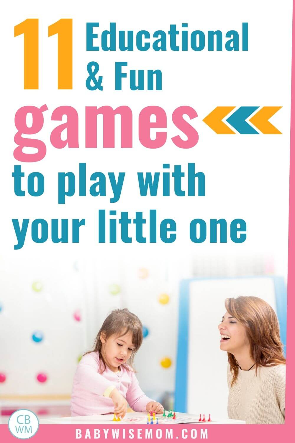 11 educational and fun games to play with your little one pinnable image