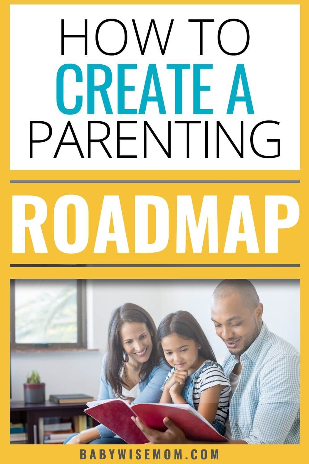 How to create a parenting plan pinnable image