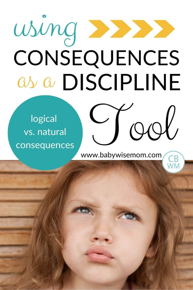 Using Consequences as a Discipline Tool pinnable image