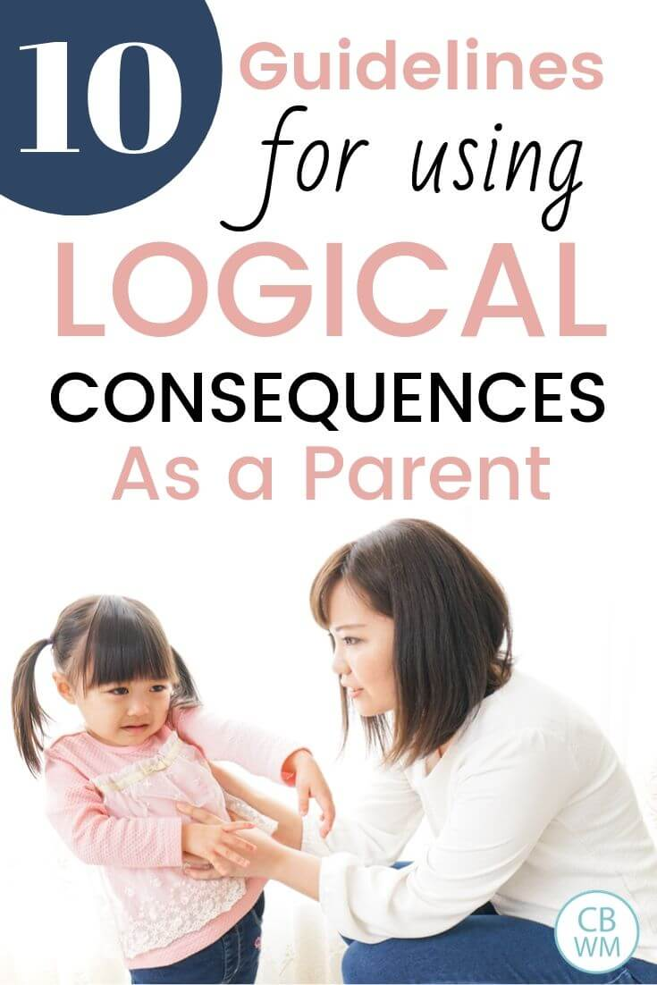 10 guidelines for using logical consequences pinnable image