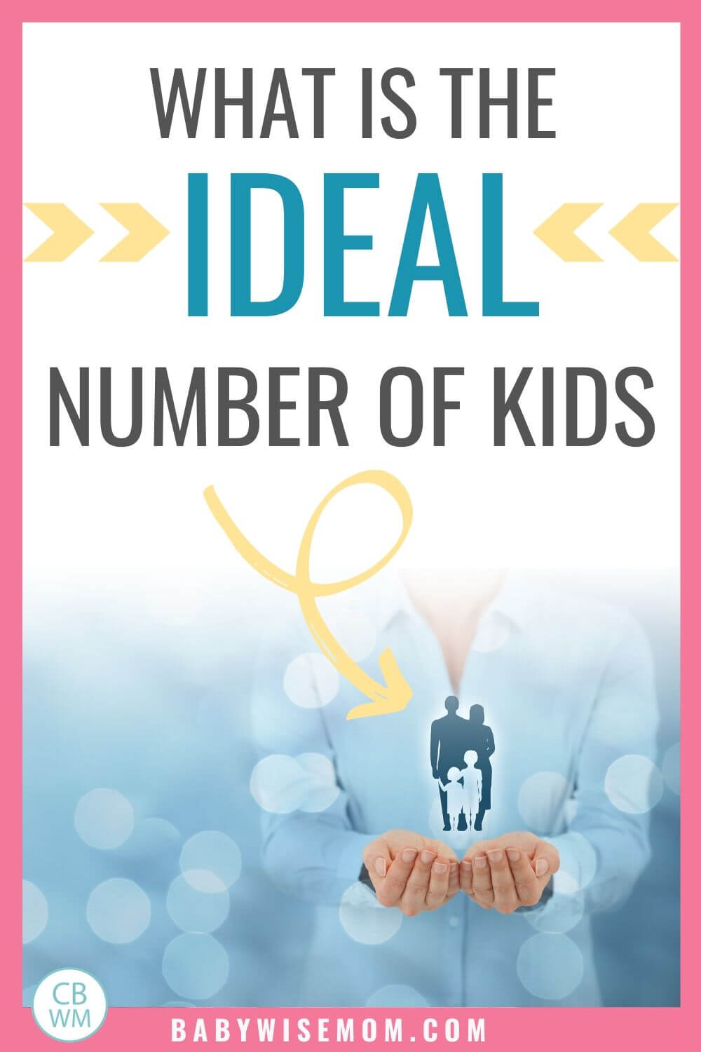What is the ideal number of kids pinnable image