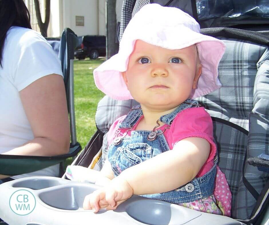 McKenna at 13 months old