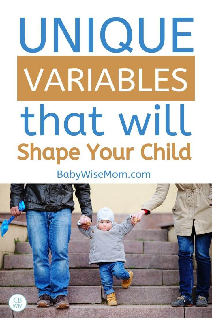 Unique Variables that will shape your child pinnable image