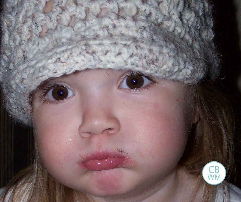 3 year old Kaitlyn