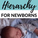 Sleep hierarchy for newborns pinnable image