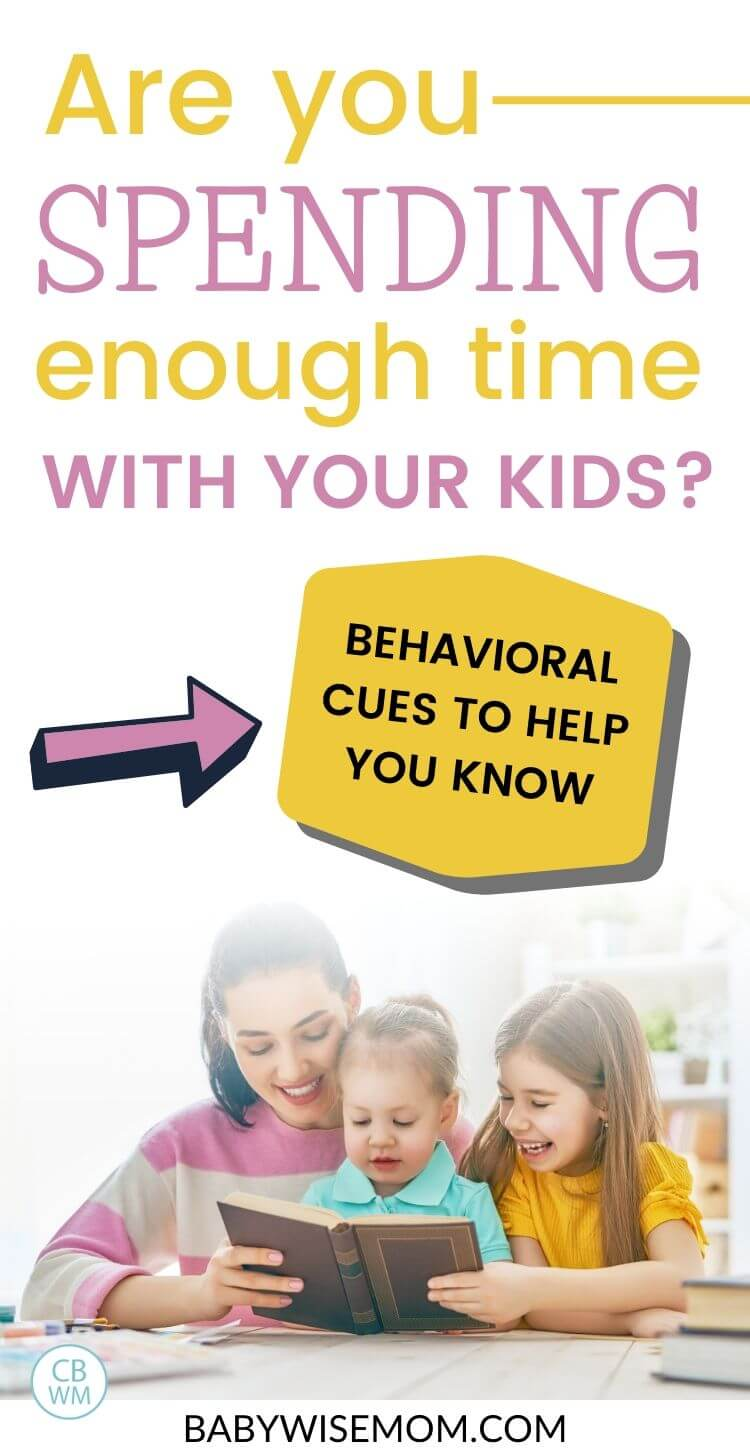 Time with kids--behavioral cues to help you know pinnable image