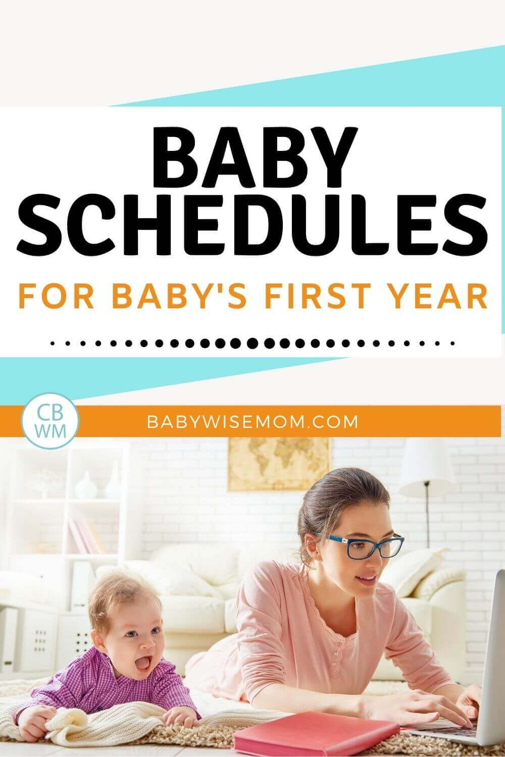 Baby Schedules pinnable image