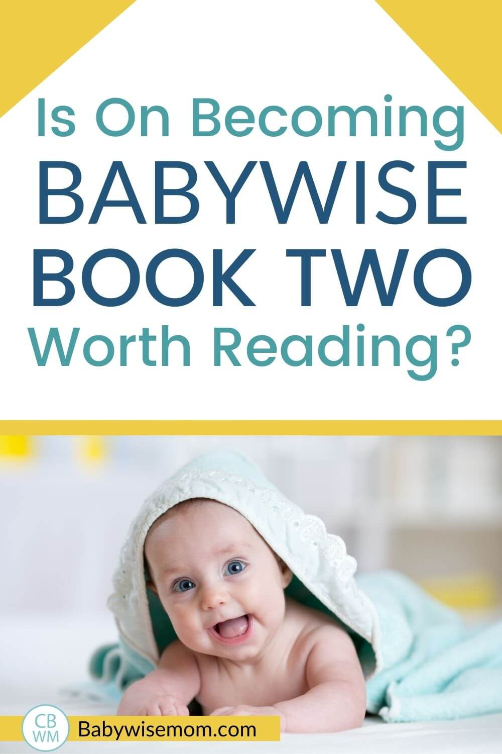 Babywise book two worth reading pinnable image