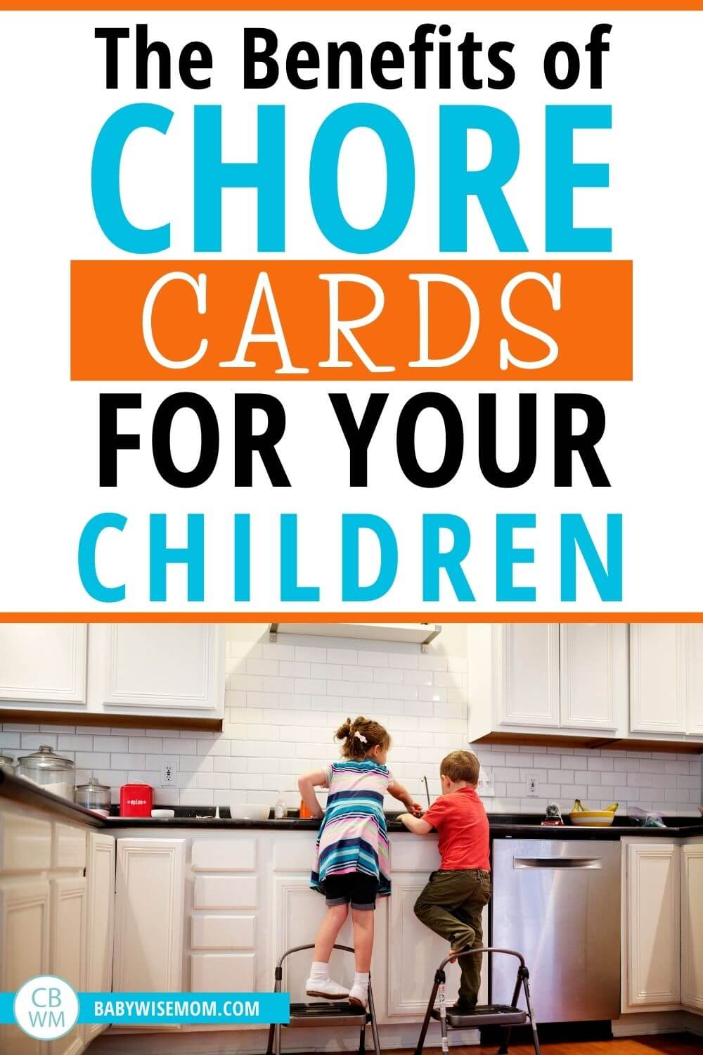 Benefits of chores cards for children