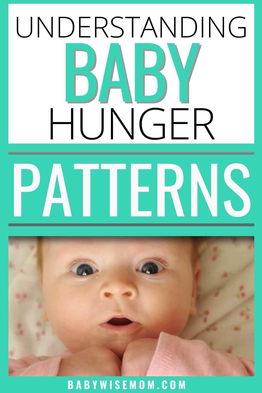 Understanding baby hunger patterns