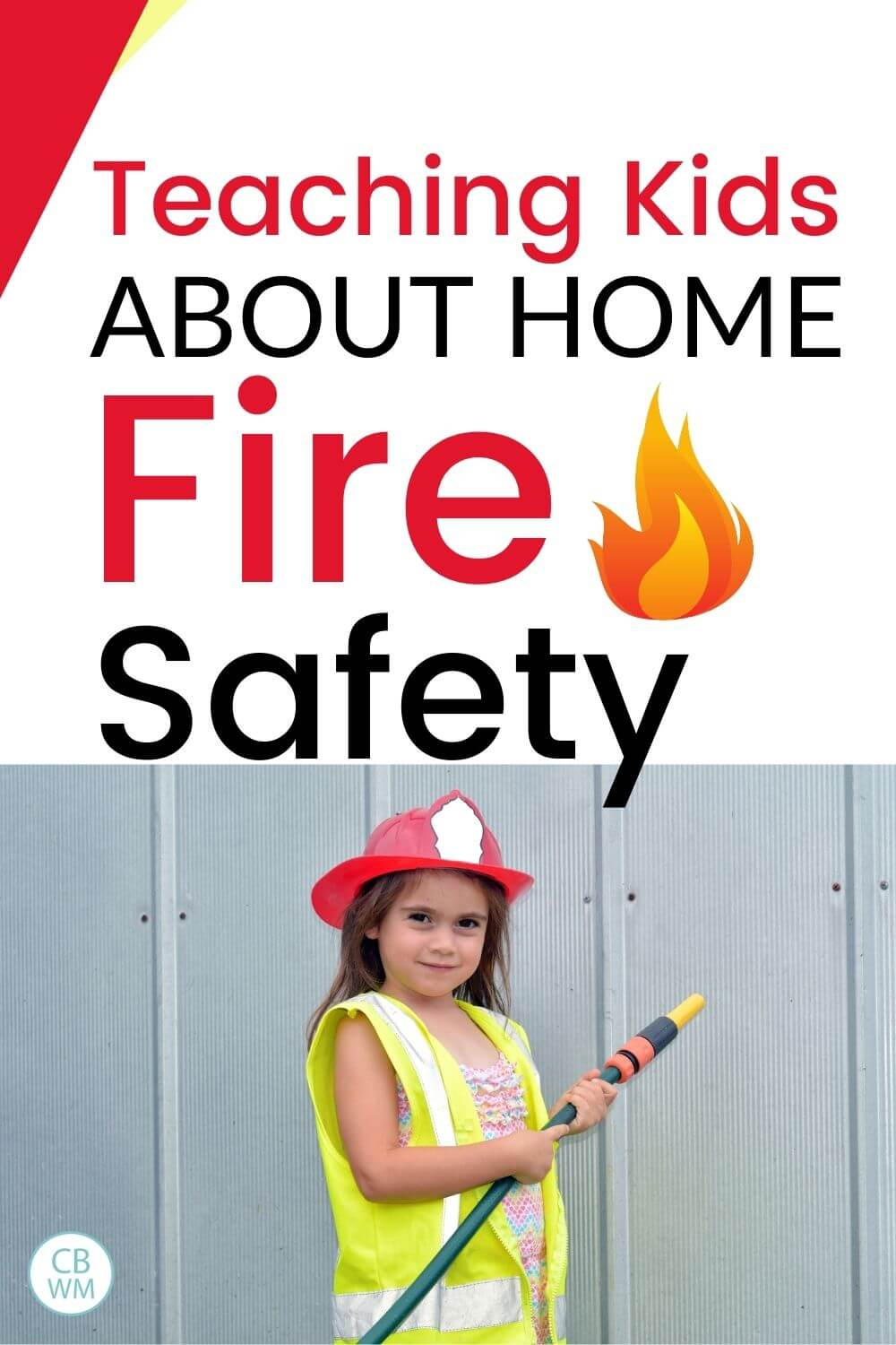Teaching home fire safety to kids