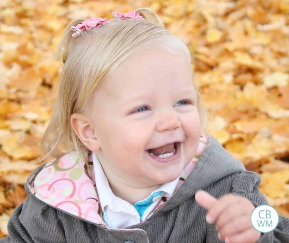 19 month old McKenna