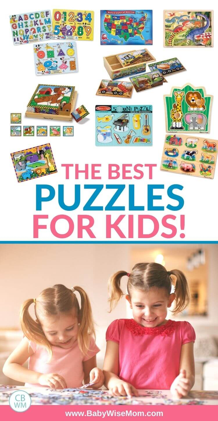 The best puzzles for kids