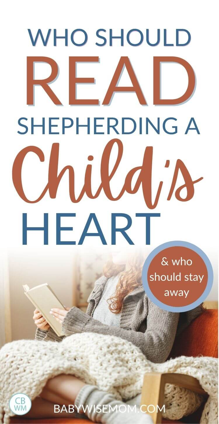 Who should read shepherding a child's heart